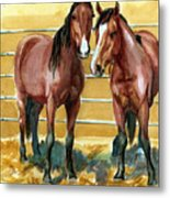 Pick Up Day Metal Print by Linda L Martin