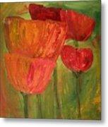 Poppies 2 Metal Print