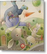 Rabbit Marcus The Great 05 Metal Print