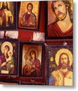 Religious Icons Metal Print