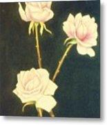 Roses In Full Bloom Metal Print