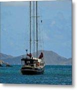 Sailing Virgin Islands Metal Print