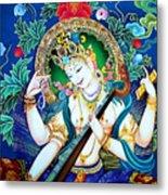 Saraswati 2 Metal Print