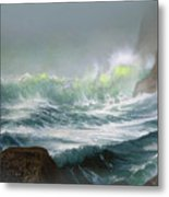 Seaswell Metal Print by Robert Foster