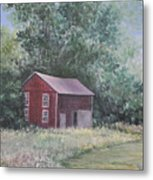 Shortys Shed Metal Print