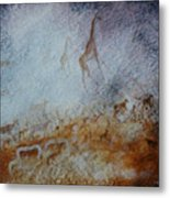 South African  Pertroglyph Metal Print