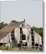 South Of Moberly Metal Print