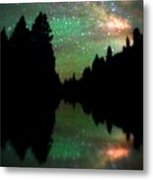 Starry Dreamscape Metal Print