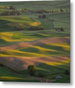 Steptoe Butte 10 Metal Print