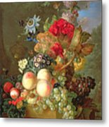 Still Life With Auriculus  Metal Print