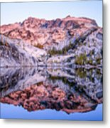 Leprechaun Lake Sunrise Metal Print