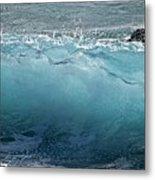 Surf Starter, Kekaha Beach Metal Print