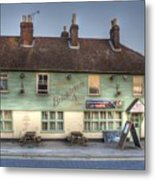 The Bricklayers Arms New Hythe Metal Print