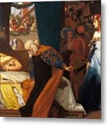 The Feigned Death Of Juliet  Metal Print