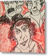The Marx Brothers Metal Print