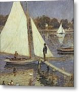 The Seine At Argenteuil Metal Print