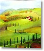 Tuscany Metal Print by Maryann Schigur