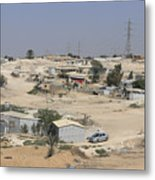 Unrecognized, Beduin Shanty Township  Metal Print