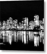 Vancouvers Silver Lining  Metal Print