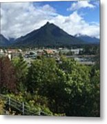 View From Top Of Castle Hill Sitka Alaska 2015 Metal Print