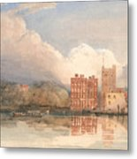 View Of Lambeth Palace On Thames Metal Print