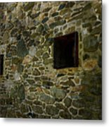 Vintage Stone Wall In Radnor  Pa Metal Print