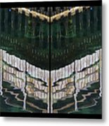 Water Reflection Twofold Metal Print