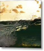 Wave Tube Metal Print