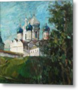 Welcome To Russia Metal Print