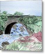Wishing Bride Bridge, Co.. Kerry Metal Print