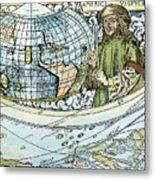 Amerigo Vespucci (1454-1512) Metal Print