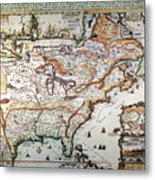 New France, 1719 Metal Print