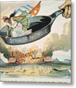Spanish-american War, 1898 Metal Print