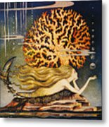 Andersen: Little Mermaid Metal Print
