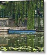 0044-2- Row Boat Metal Print