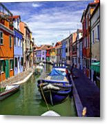 0045 Burano Colors 2 Metal Print