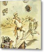 Otto Von Bismarck Metal Print