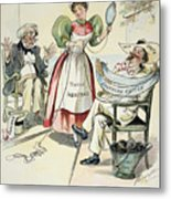 New South Cartoon, 1895 Metal Print