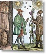 Wine Merchant, 1582 Metal Print