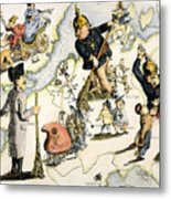 Europe: 1848 Uprisings Metal Print