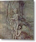Andersen: Little Mermaid Metal Print