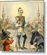 William II Of Germany Metal Print
