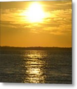 010 Sunset 16mar16 Metal Print