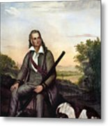 John James Audubon Metal Print