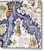 Marco Polo (1254-1324) Metal Print