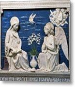 Della Robbia: Annunciation Metal Print