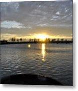012 April Sunsets Metal Print