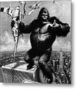 King Kong, 1976 Metal Print