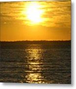 013 Sunset 16mar16 Metal Print