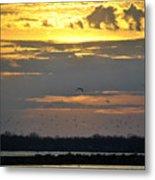 019 April Sunsets Metal Print